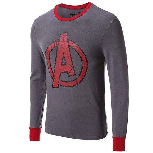Avengers Cool Johns Long Sleeve Thermal Shirt